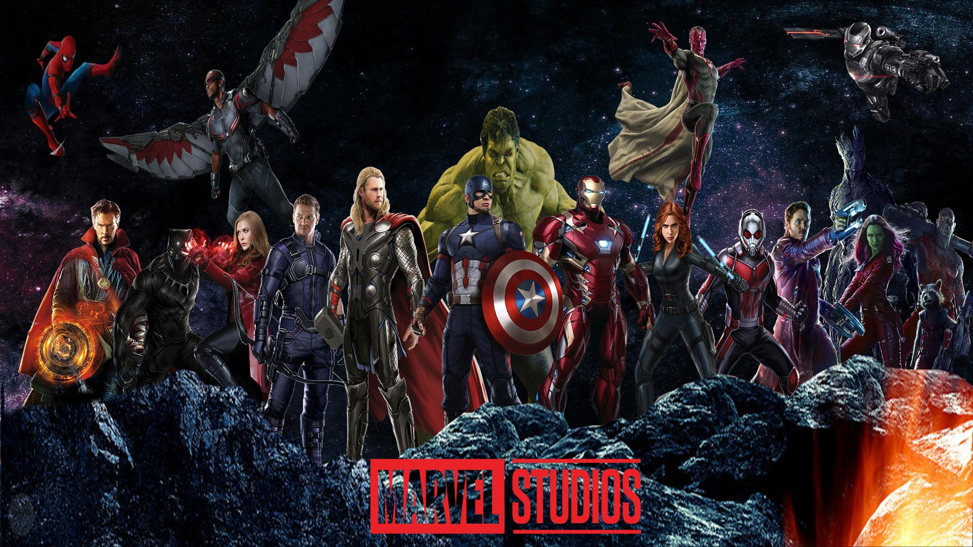 Marvel Cinematic Universe Wallpaper By The Dark Mamba 995 Marvel Art Marvel Cinematic Universe Marvel Cinematic