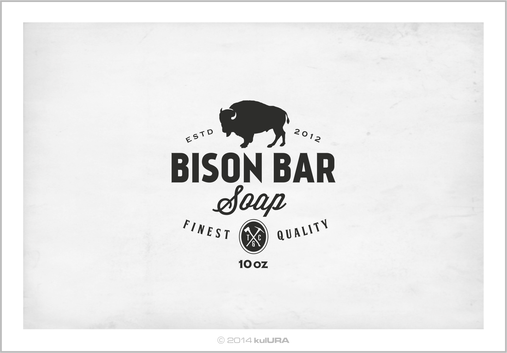 Design #35 by kulURA | Help Timber & Coal design a label for our new Bison Bar.