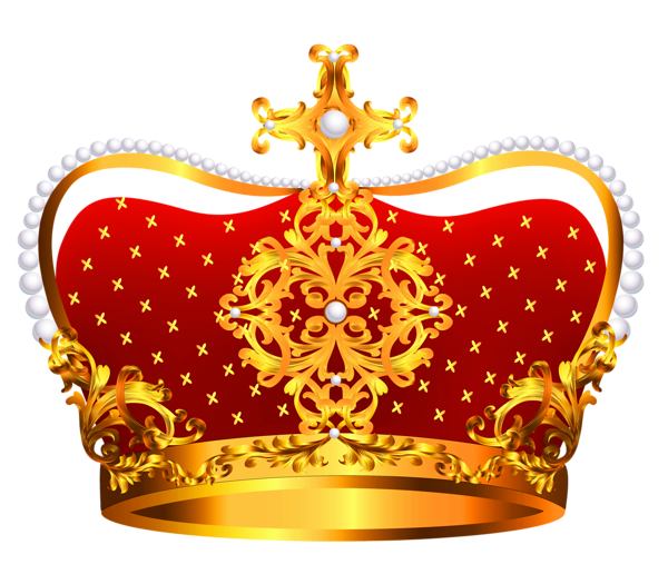 red crown clipart - photo #46