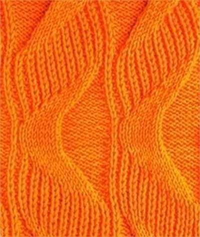 Delicadezas en crochet Gabriela: Muestra de punto a dos agujas