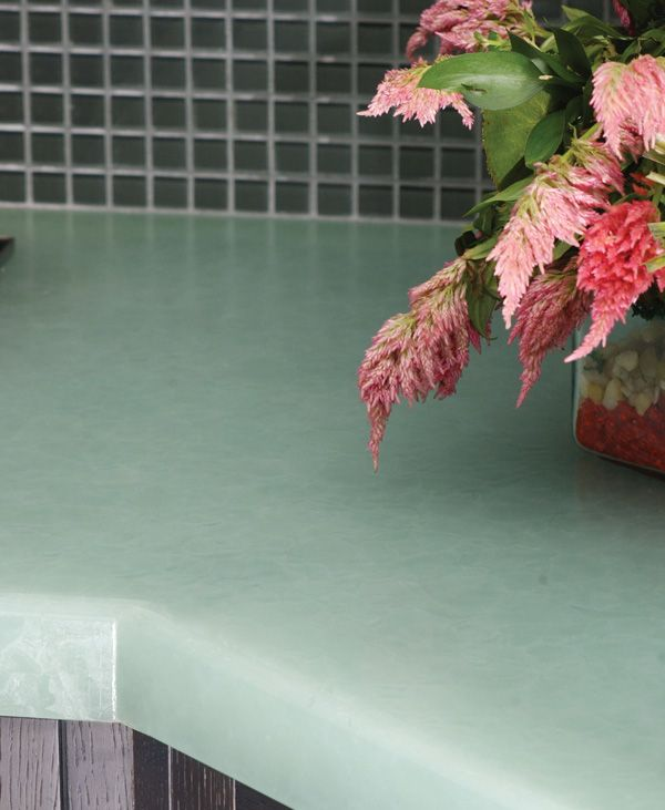 Bio Glass Countertops #31 - Bio Glass Countertops- Made From Recycled Glass Bottles