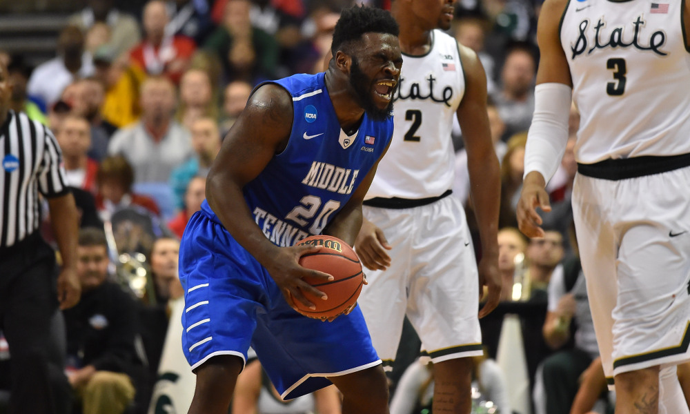 Middle Tennessee Stuns Michigan State Ncaa Basketball
