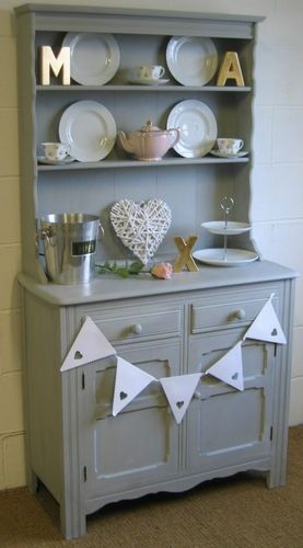 Shabby Chic French Style Kitchen Dining Room Dresser in ...