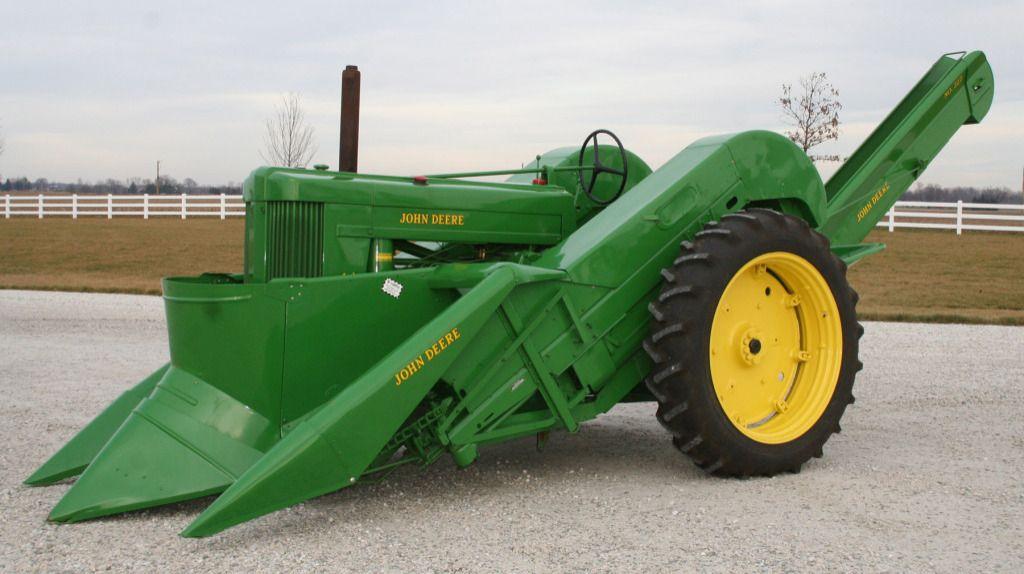Cartoon Tractor Corn Picker : An american classic john deere corn picker my absolute
