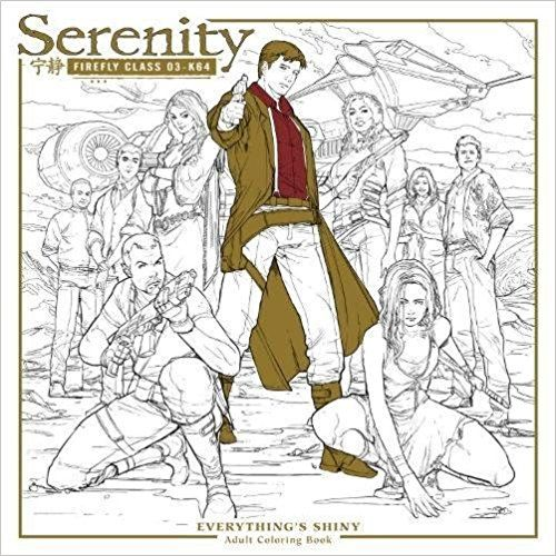 Free Download Serenity Everything S Shiny Adult Coloring Book Colouring Books