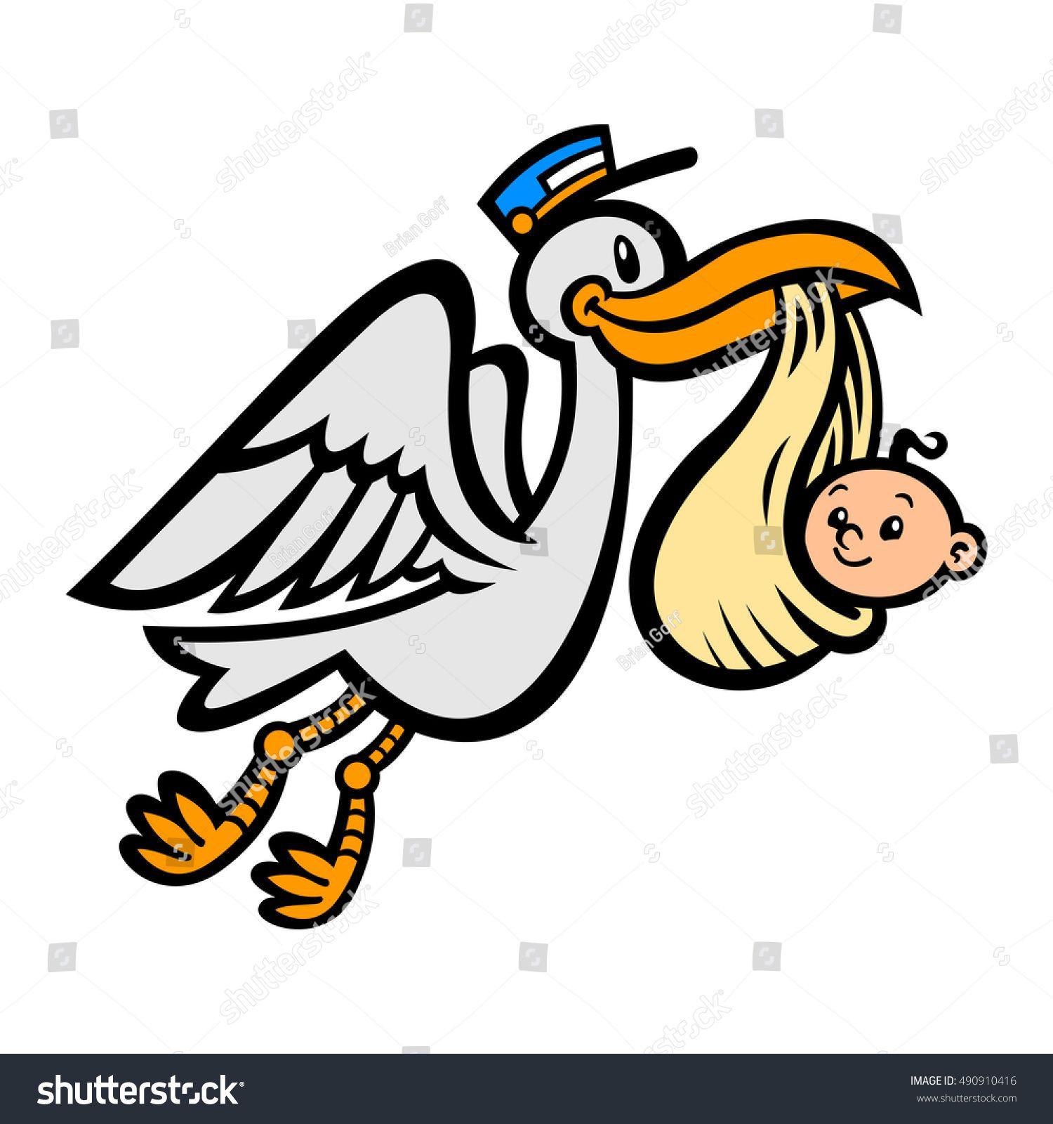 Image Result For Flying Stork Baby