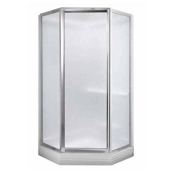"""Acrylux 38"""" X 38"""" Complete Shower Stall Includes Door"""