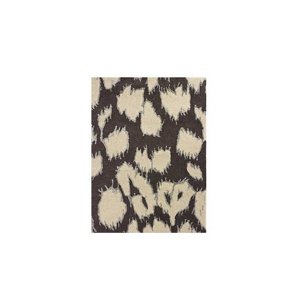 Kate Spade Leopard Ikat Rug 1 400 Liked On Polyvore Featuring Home Rugs Neutral Rugs Leopard Area Rug Leopard Rug Kate Leopard Rug Neutral Rugs Ikat