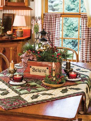 country sampler it had to be yule primitive country christmas primitive christmas decorating - Country Christmas Decorations