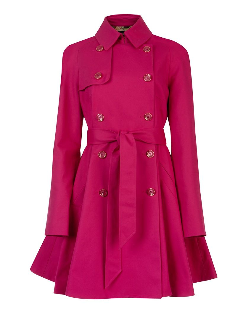 ted baker- Full skirt trench coat | Clothes! | Pinterest | Coats ...
