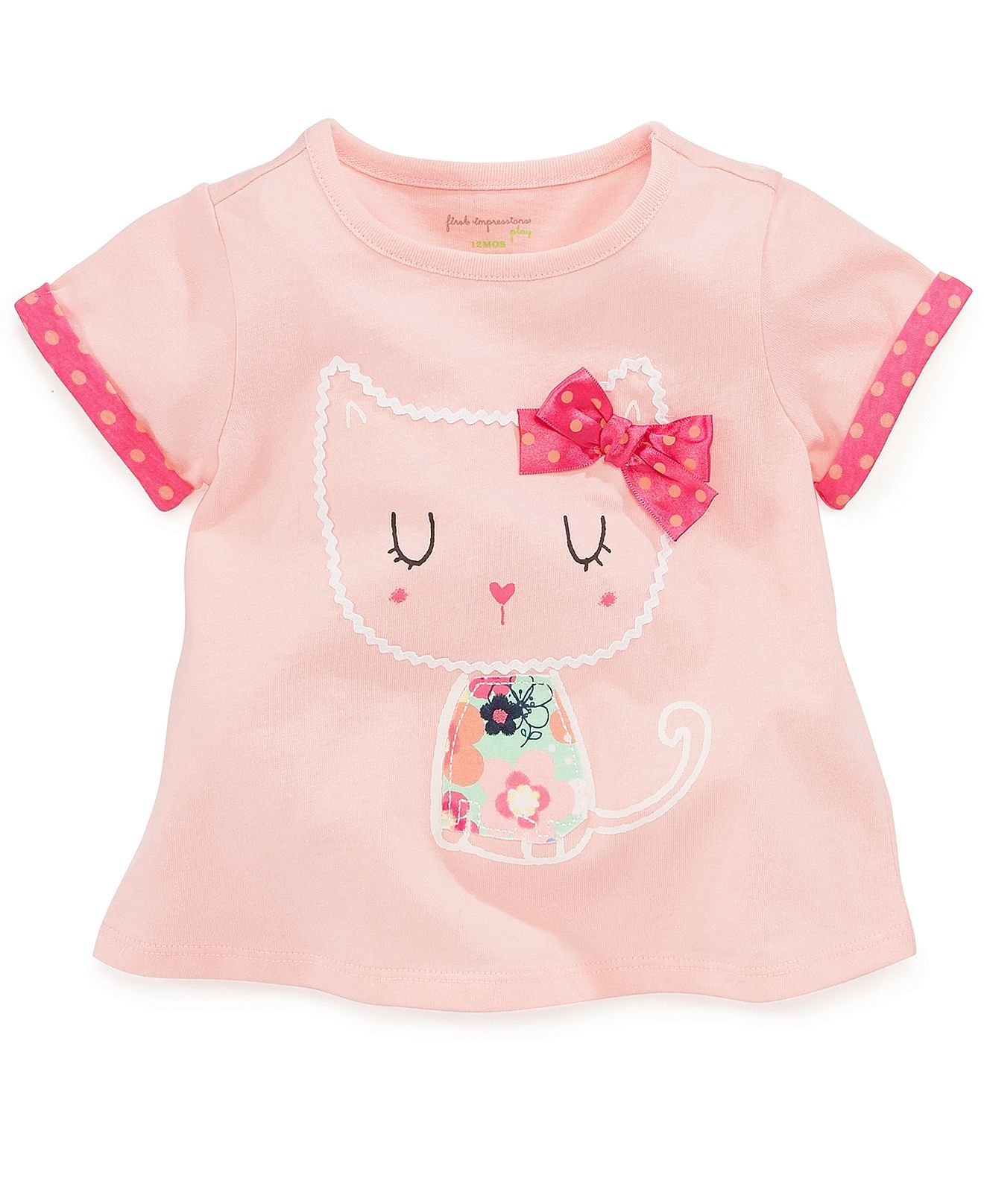 First Impressions Baby Girls Graphic Top Kids First Impressions