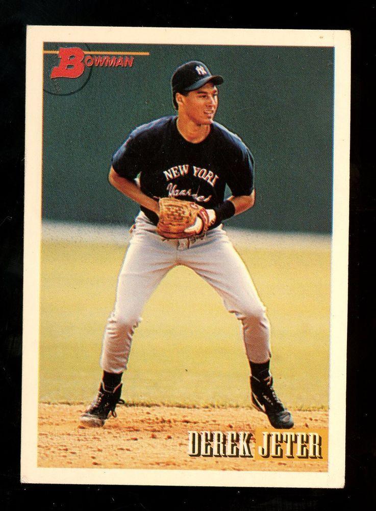 1993 bowman 511 derek jeter new york yankees rc rookie