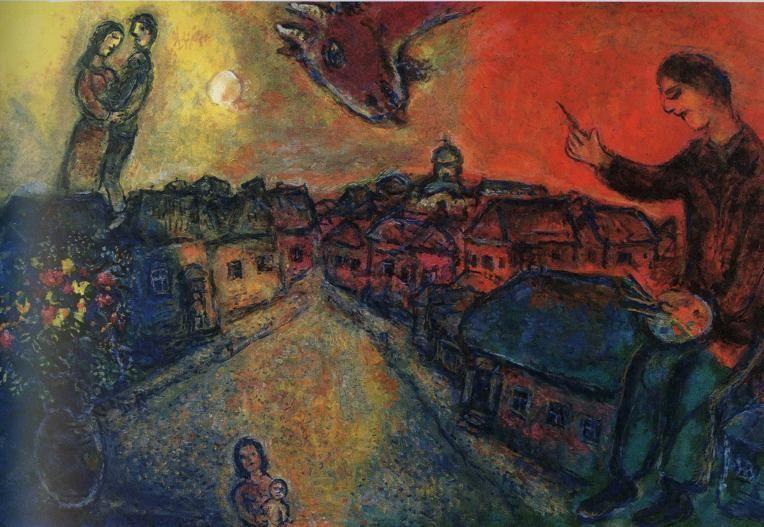 Artist Over Vitebsk, 1977-78