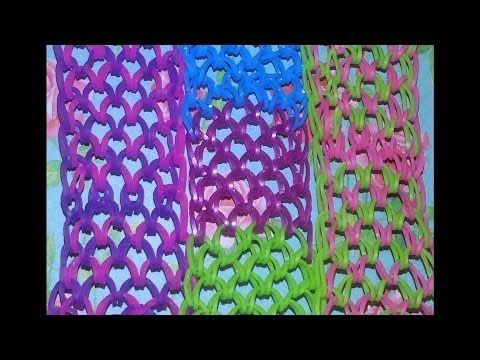 Rainbow Loom Dragon Scale Cuff Bracelet How To Make Rainbow Loom