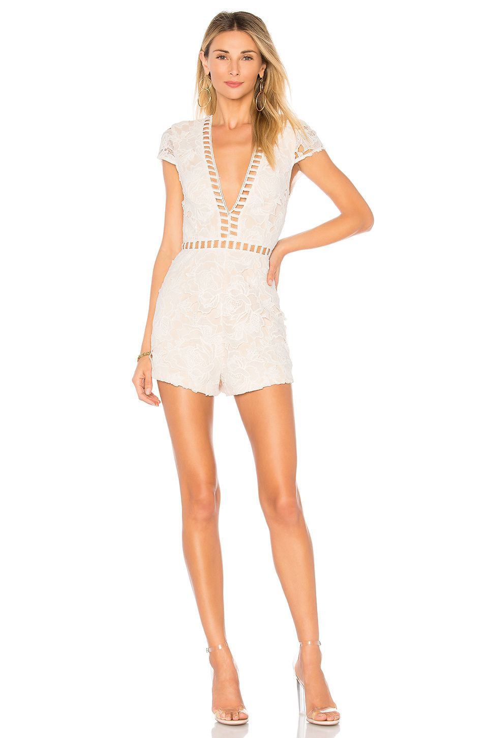 37d9154d9f9 BY THE WAY. SIMONE LACE ROMPER.  bytheway.  cloth