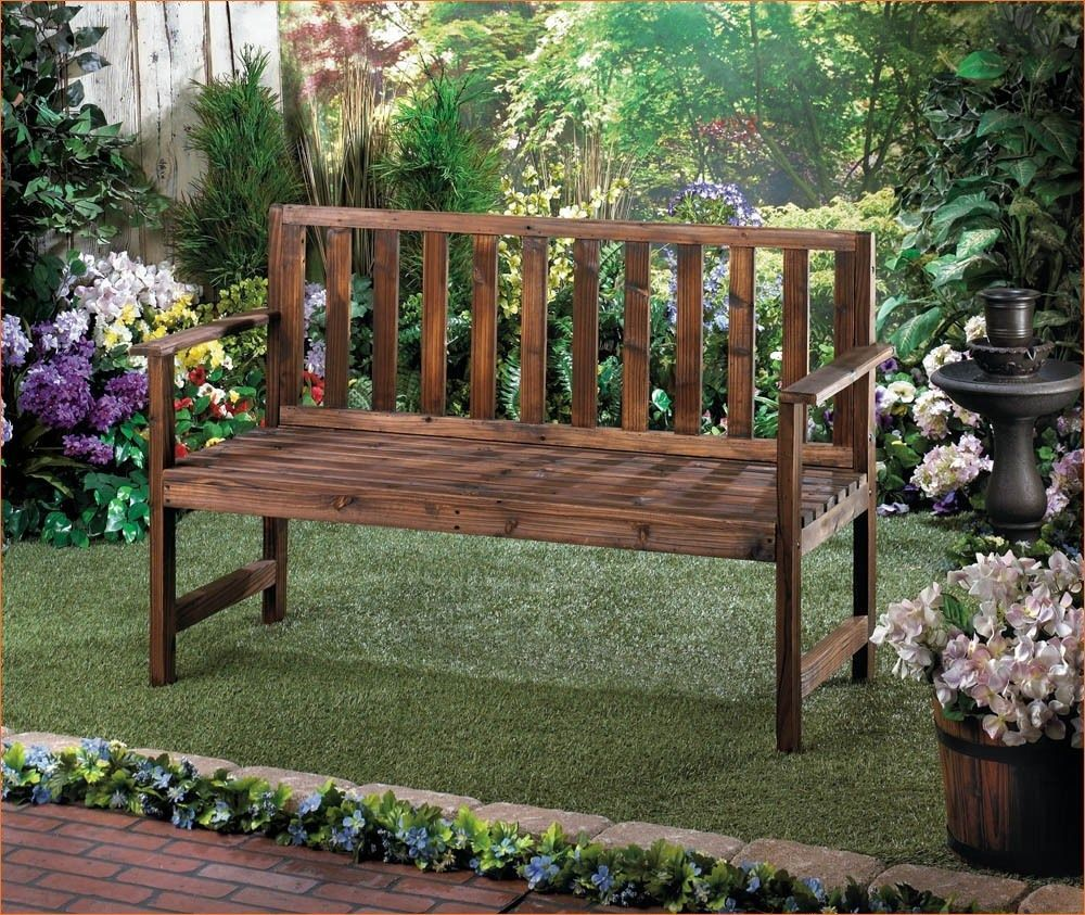 10 Garden Bench Decorating Ideas Most Of The Amazing And Interesting Outdoor Garden Bench Outdoor Decor Garden In The Woods