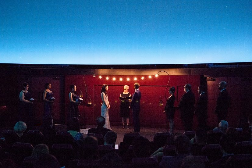 Wedding At Carnegie Science Center S Buhl Planetarium