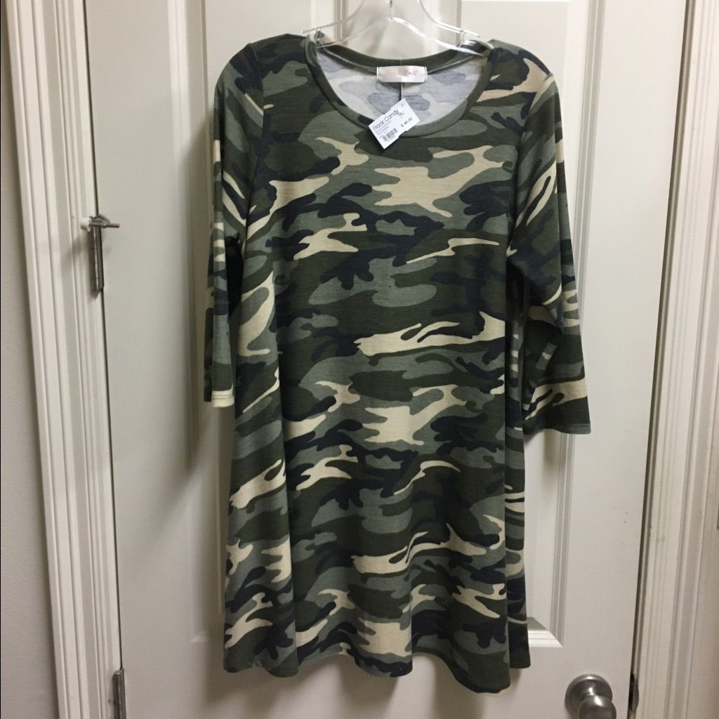 Realtree wedding dresses  Camo Dress Never Worn  Camo dress and Products