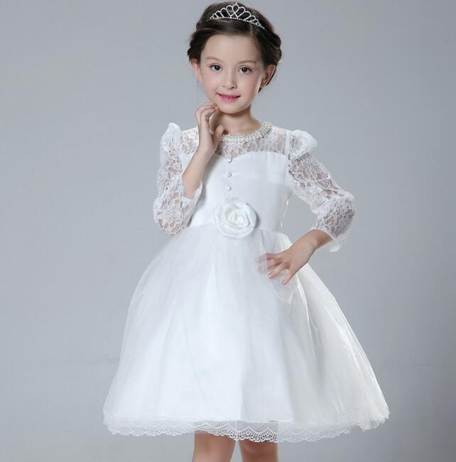 toddler girl dresses flower girls wedding dress 2016 New Girls ...