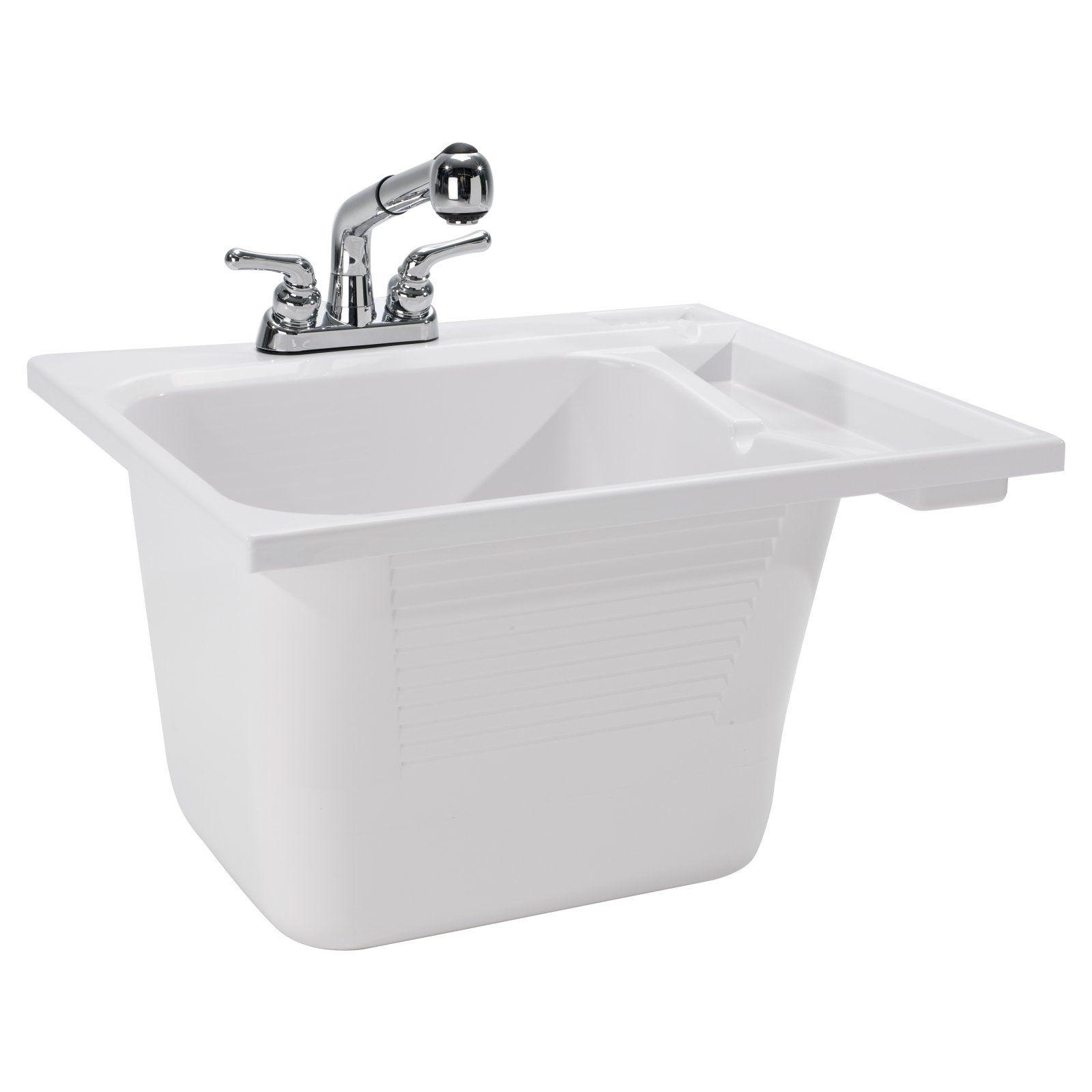 Cashel Drop In Utility Sink Kit Utility Sink Sink Traditional