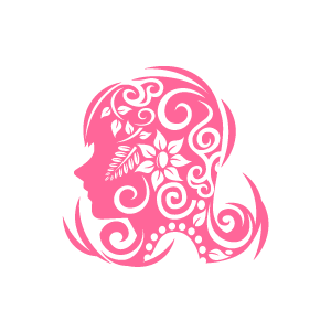 Graphic design of flower clipart pink girl is thingking about graphic design of flower clipart pink girl is thingking about flowers with white background mightylinksfo Choice Image