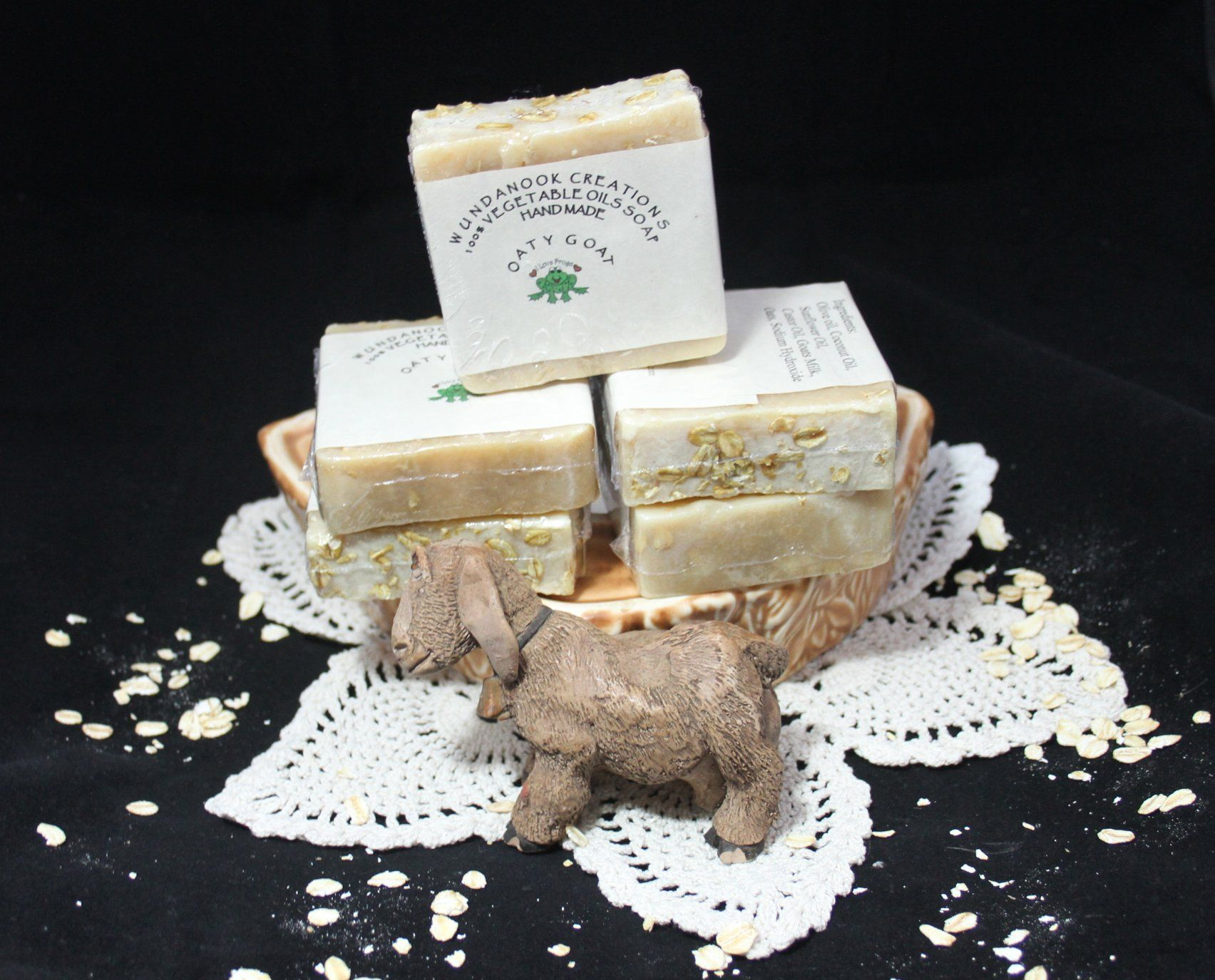 Oaty Goat Soap - 100% Goat Milk and rolled Oats