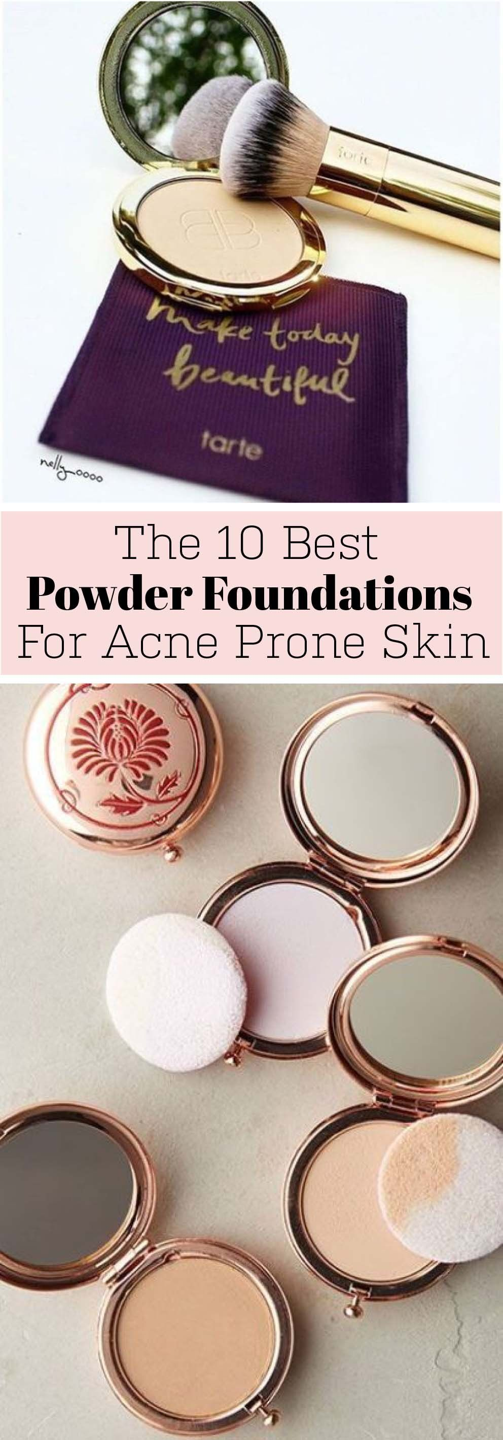 This is the best powder foundation for acne prone skin
