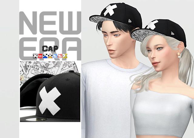 Sims 4 CC's - The Best: New Era Cap by waekey