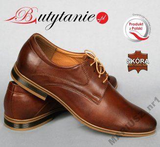 Polbuty Wizytowe Eleganckie Buty Polskie Skora 579 6249979430 Oficjalne Archiwum Allegro Dress Shoes Men Dress Shoes Oxford Shoes