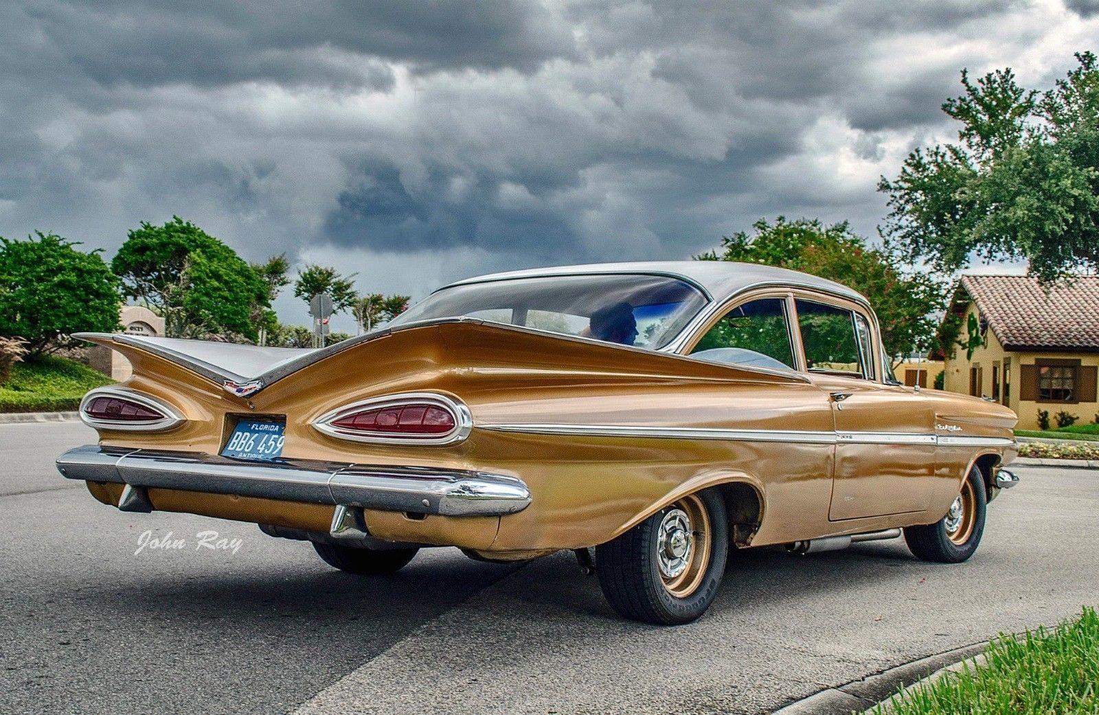 1959 Chevrolet Impala Bel Air Chevroletimpala1959 Chevrolet Impala Chevy Impala Old American Cars