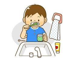 Resultado de imagen para cepillado de dientes en niños dibujos