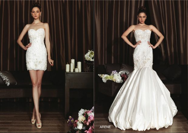 Would be amazing without bubble. High Volume Glamour with Intuzuri Wedding Dresses | OMG I'm Getting Married UK Wedding Blog | UK Wedding Design and Inspiration for the fabulous and fashion forward bride to be.