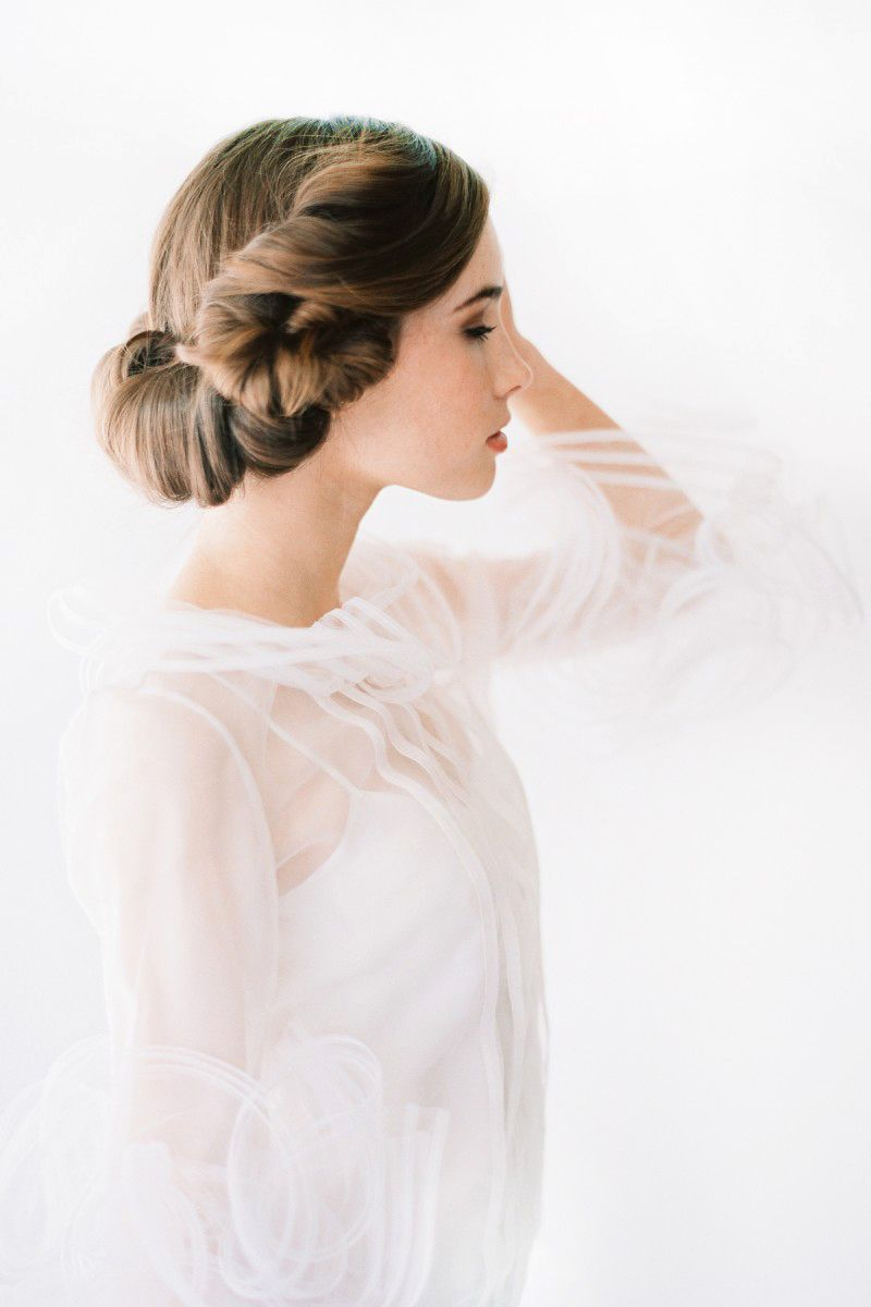 Beautiful hairstyle #bridal #updo #tuck | Hairs & Graces | Pinterest ...
