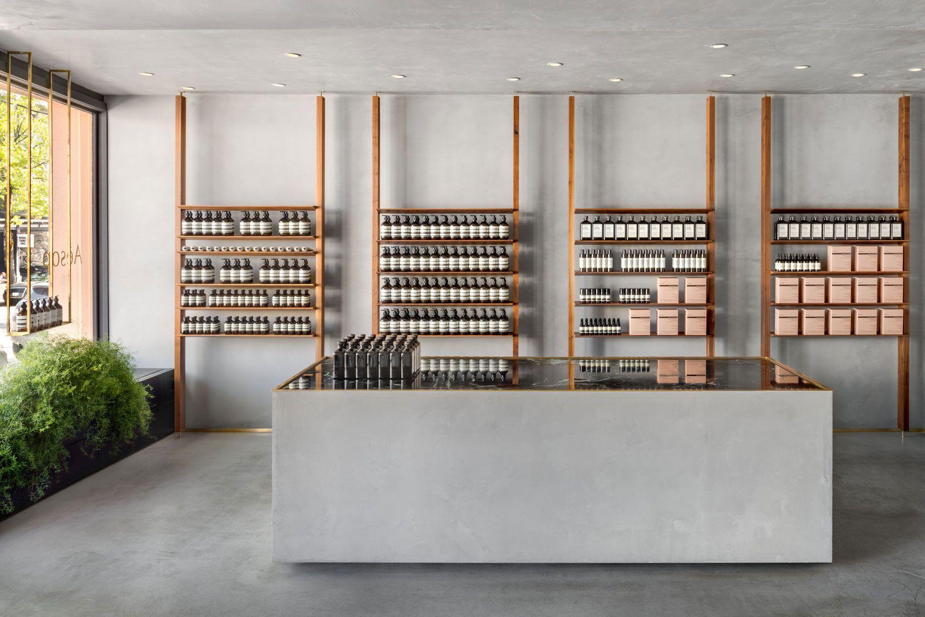 Aesop Kitsilano Aesop Store Store Design Shop Interior Design