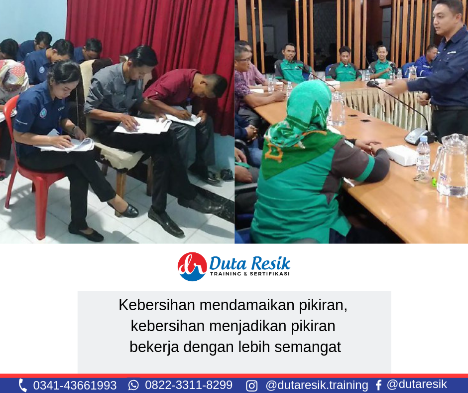 Training cleaning service indonesia, pelatihan training