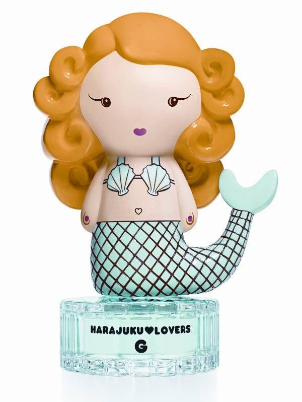 harajuku lovers candle - Google Search mermaid concept