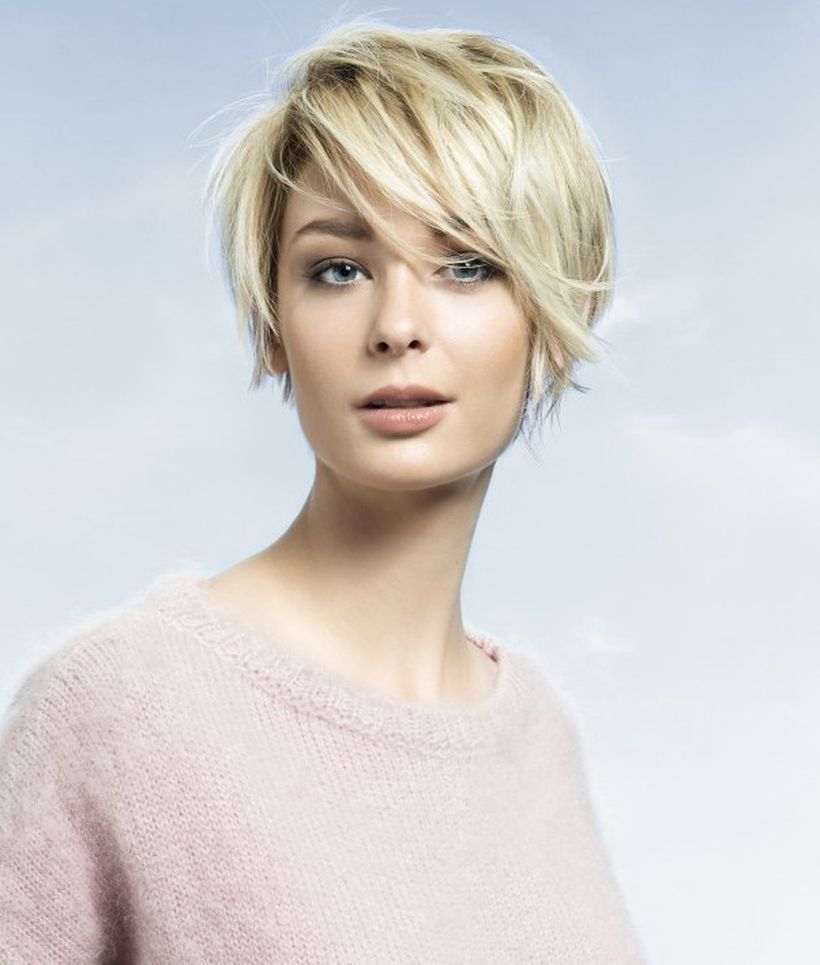 cool short pixie blonde hairstyle that must you try blonde