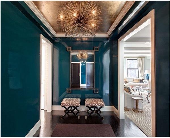 Best 25 Gold Ceiling Ideas On Pinterest Navy Walls