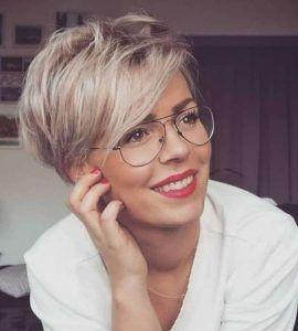 Kurze Frisuren für Damen mit rundem Gesicht - Kurze Haare 2020