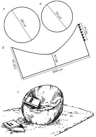 pingl par lena snaga sur bean bag pinterest patron pouf et poufs poires. Black Bedroom Furniture Sets. Home Design Ideas