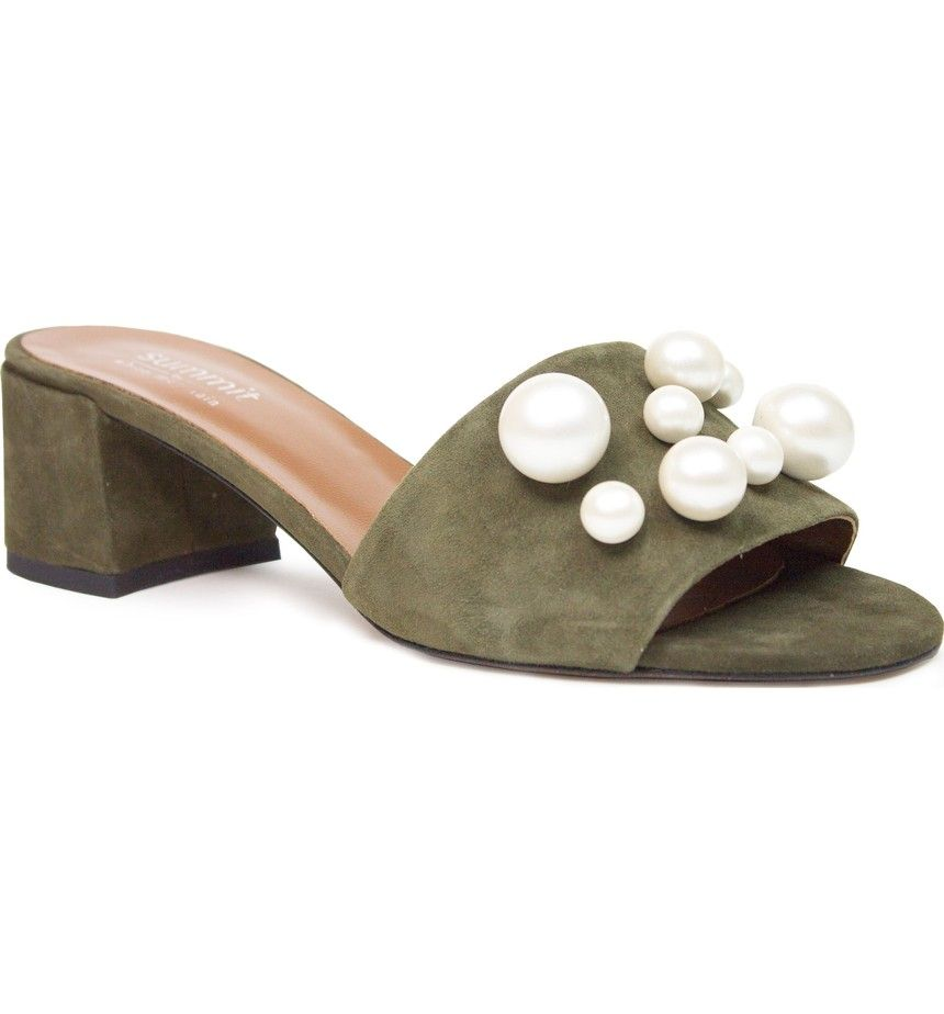 Summit from Italy Ariella Beaded Slide Mule i1AQ2