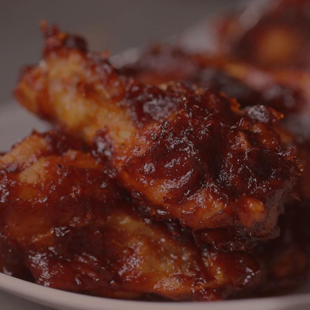 Cajun BBQ Baked Wings