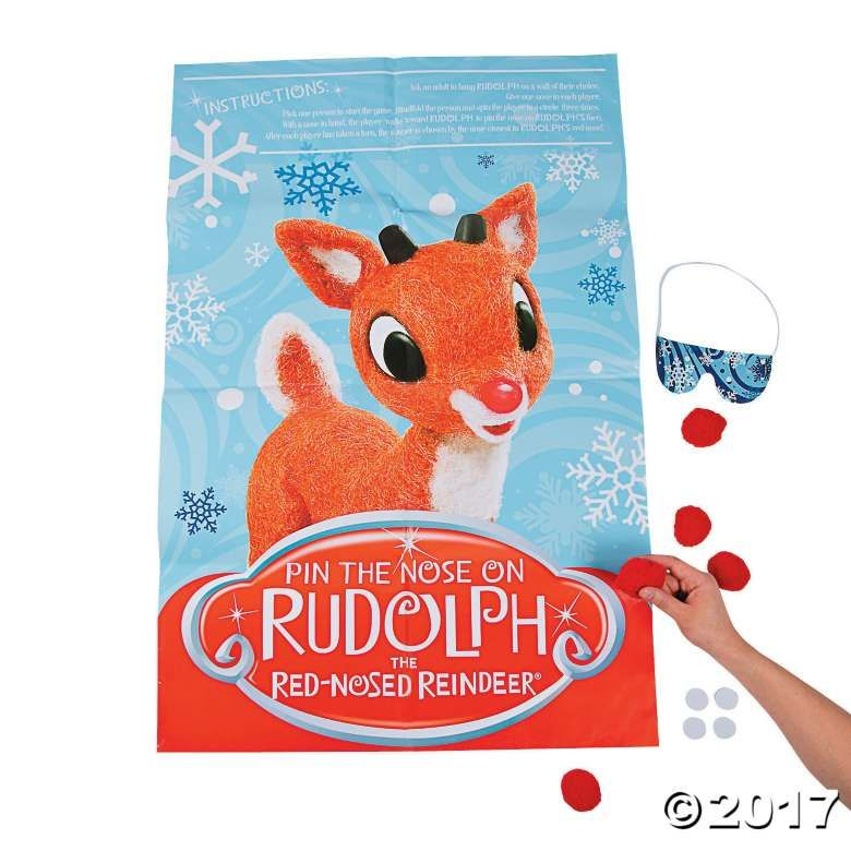 Pin the Nose on Rudolph the Red-Nosed Reindeer® Game Community