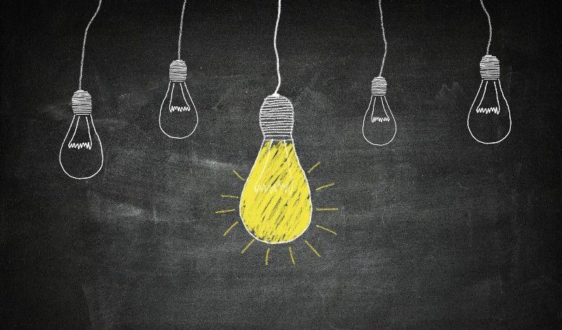 Five Health Ideas Worth Exploring Brainstorming Blackboards Creative Business