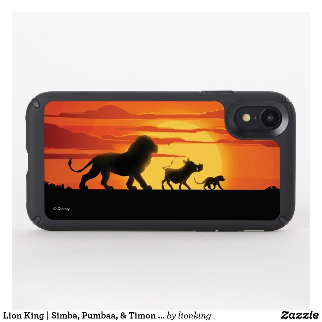 DISNEY THE LION SUNSET SILHOUETTE iphone case