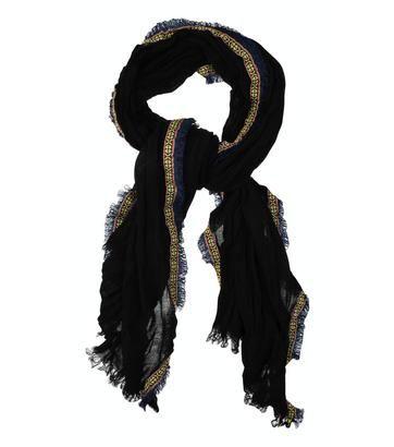 Grote zwarte sjaal