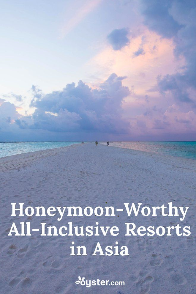 All-Inclusive Resorts In Asia For Honeymoons