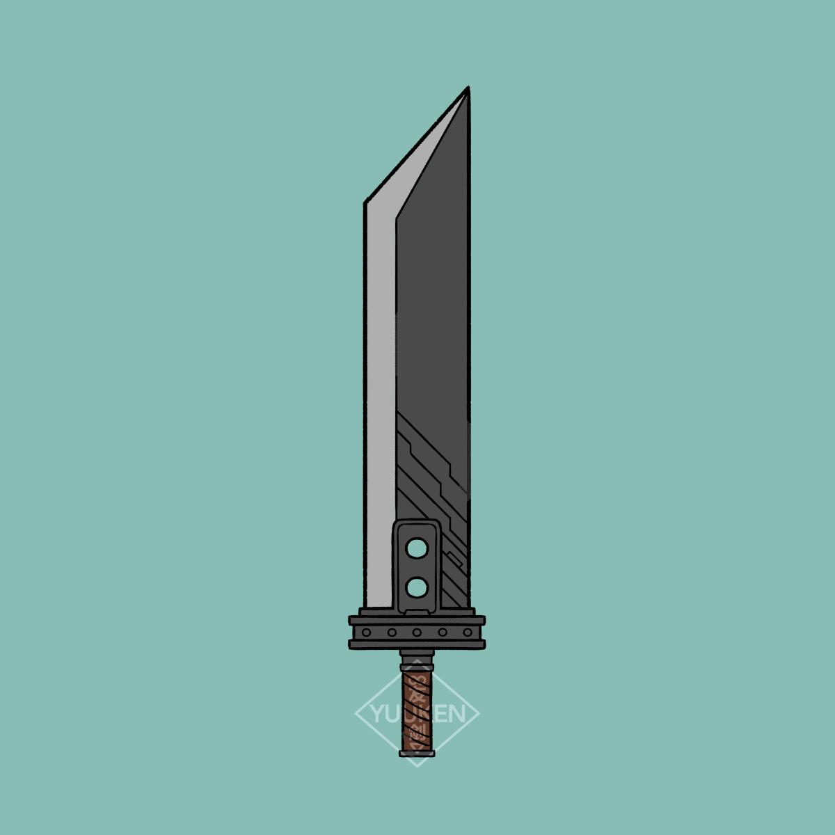 Pin By Tyler Kuber On Tattoos Final Fantasy Gaming Tattoo Fantasy Sword
