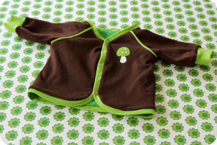 Babyjacke Gr. 50/56 Schnitt free | Freebook\'s für Kinder/Babys ...