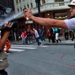 """24 Momentos dos protestos em São Paulo que você não verá na TV!! LEIAM E SE MANIFESTEM! VEJAM O QUÃO A NOSSA SOCIEDADE É """"DEMOCRÁTICA""""!"""